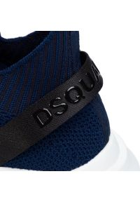 Niebieskie sneakersy DSQUARED2