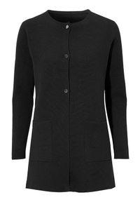 Czarny sweter Cellbes z długim rękawem, długi