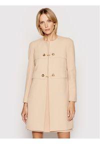 Różowy płaszcz przejściowy Rinascimento