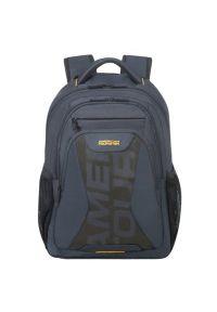 Niebieski plecak na laptopa AMERICAN TOURISTER
