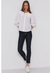 Levi's® - Levi's - Koszula bawełniana. Okazja: na spotkanie biznesowe. Kolor: biały. Materiał: bawełna. Wzór: gładki. Styl: biznesowy