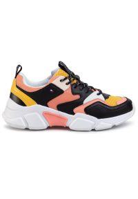 Pomarańczowe buty sportowe TOMMY HILFIGER