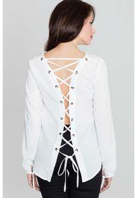 Bluzka z długim rękawem Katrus z dekoltem na plecach