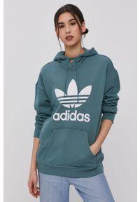 Bluza adidas Originals z nadrukiem, z kapturem