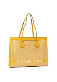 Żółta torebka klasyczna Michael Kors klasyczna