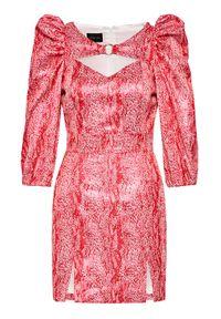 Czerwona sukienka koktajlowa Rage Age