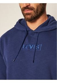 Levi's® Bluza 38479-0018 Granatowy Relaxed Fit. Kolor: niebieski