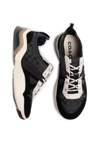 Czarne buty sportowe Coach