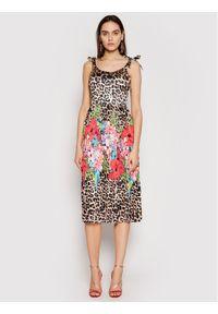 Sukienka letnia Marciano Guess w kolorowe wzory