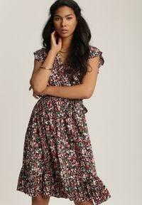 Renee - Czarna Sukienka Euphiophai. Kolor: czarny