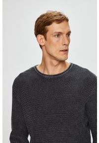 medicine - Medicine - Sweter Under The City. Okazja: na co dzień. Kolor: szary. Materiał: dzianina, materiał. Styl: casual