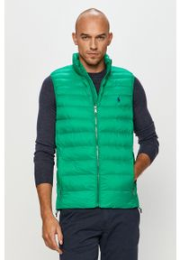 Zielona kamizelka Polo Ralph Lauren casualowa, polo, na co dzień