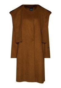 Brązowy płaszcz przejściowy Persona by Marina Rinaldi
