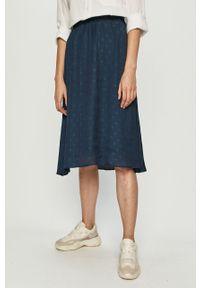 Niebieska spódnica Vila na co dzień, casualowa