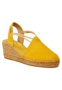 Żółte sandały Toni Pons