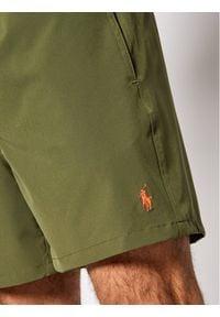 Polo Ralph Lauren Szorty kąpielowe Traveler 710829851006 Zielony Regular Fit. Kolor: zielony