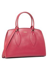 Czerwona torebka klasyczna Furla klasyczna
