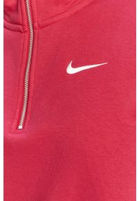 Nike Sportswear - Bluza. Typ kołnierza: kaptur. Kolor: różowy. Długość rękawa: długi rękaw. Długość: krótkie