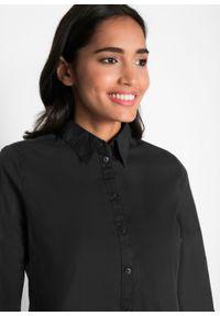 Bluzka oversize z ochroną przed promieniowaniem UV, długa bonprix czarny. Kolor: czarny. Długość: długie