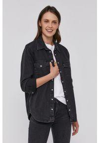 Levi's® - Levi's - Koszula jeansowa. Okazja: na co dzień, na spotkanie biznesowe. Kolor: czarny. Materiał: jeans. Długość rękawa: długi rękaw. Długość: długie. Styl: biznesowy, casual