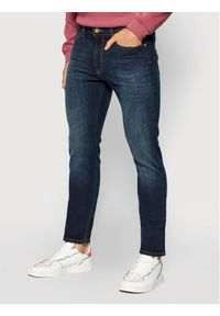 Lee Jeansy Slim Fit Luke L719GCBY Granatowy Slim Fit. Kolor: niebieski. Materiał: jeans