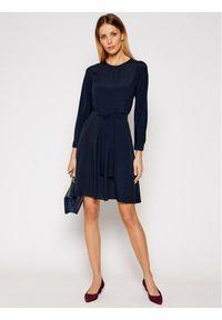 Weekend Max Mara Sukienka codzienna Jangy 52210417 Granatowy Regular Fit. Okazja: na co dzień. Kolor: niebieski. Typ sukienki: proste. Styl: casual