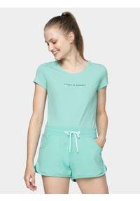 4f - T-shirt damski. Materiał: jersey, bawełna