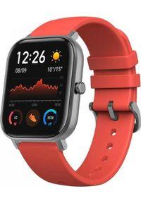 AMAZFIT - Smartwatch Amazfit GTS Pomarańczowy (6970100373585). Rodzaj zegarka: smartwatch. Kolor: pomarańczowy