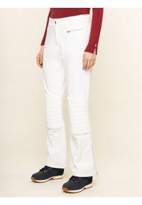 Białe spodnie sportowe Helly Hansen narciarskie
