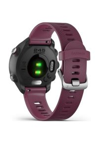 Czerwony zegarek GARMIN sportowy, cyfrowy