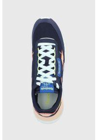 Reebok Classic - Buty CL Legacy. Nosek buta: okrągły. Zapięcie: sznurówki. Kolor: niebieski. Materiał: guma. Model: Reebok Classic
