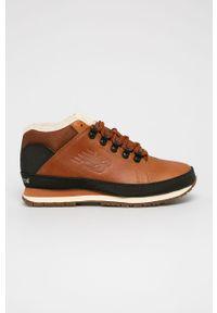 Sneakersy New Balance na sznurówki, z cholewką, z okrągłym noskiem