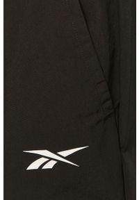 Czarny komplet dresowy Reebok gładki