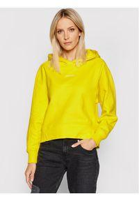 Calvin Klein Jeans Bluza J20J215462 Żółty Regular Fit. Kolor: żółty