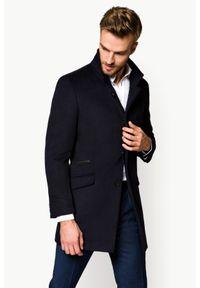 Niebieski płaszcz Lancerto klasyczny