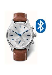 Kronaby Wodoodporny połączony zegarek Sekel A1000-3122. Styl: retro