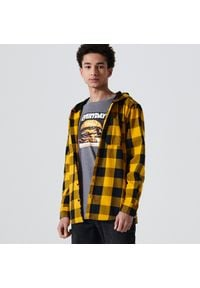 Żółta koszula Cropp z kapturem
