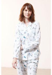 Biała piżama Etam długa