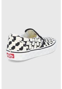 Vans - Tenisówki. Nosek buta: okrągły. Materiał: guma