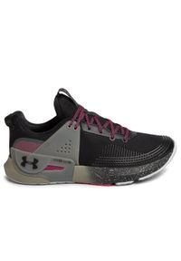 Czarne buty do biegania Under Armour z cholewką