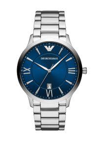 Armani Exchange - Zegarek AR11227. Kolor: srebrny. Materiał: materiał