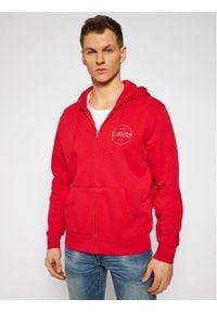 Levi's® Bluza The Graphic Zip Up 38820-0015 Czerwony Regular Fit. Kolor: czerwony