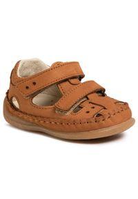 Brązowe sandały Froddo na lato