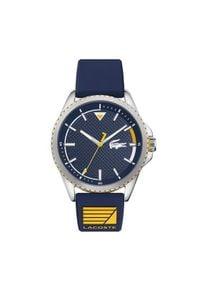 Lacoste Zegarek Nautical 2011027 Granatowy. Kolor: niebieski