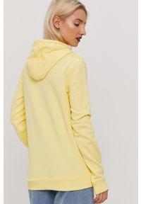 Roxy - Bluza. Okazja: na co dzień. Kolor: żółty. Długość rękawa: długi rękaw. Długość: długie. Wzór: nadruk. Styl: casual