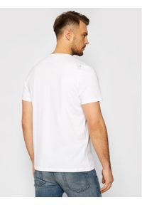 Musto T-Shirt Logo 84008 Biały Regular Fit. Kolor: biały #3
