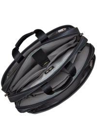 Czarna torba na laptopa RIVACASE w kolorowe wzory