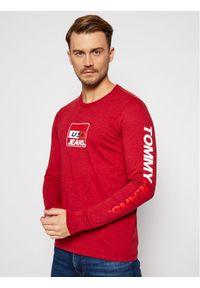 Czerwona koszulka z długim rękawem Tommy Jeans