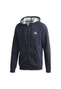 Bluza z kapturem Adidas casualowa, na co dzień, melanż
