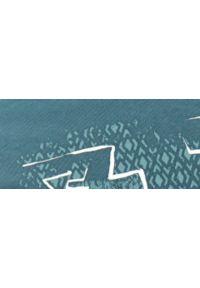 TOP SECRET - T-shirt męski z nadrukiem mapy świata. Kolor: niebieski. Materiał: bawełna, tkanina. Długość rękawa: krótki rękaw. Długość: krótkie. Wzór: nadruk. Sezon: lato. Styl: wakacyjny